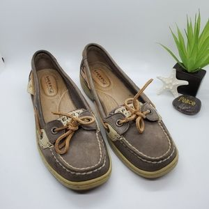 Sperry Brown Top Sider Shoes